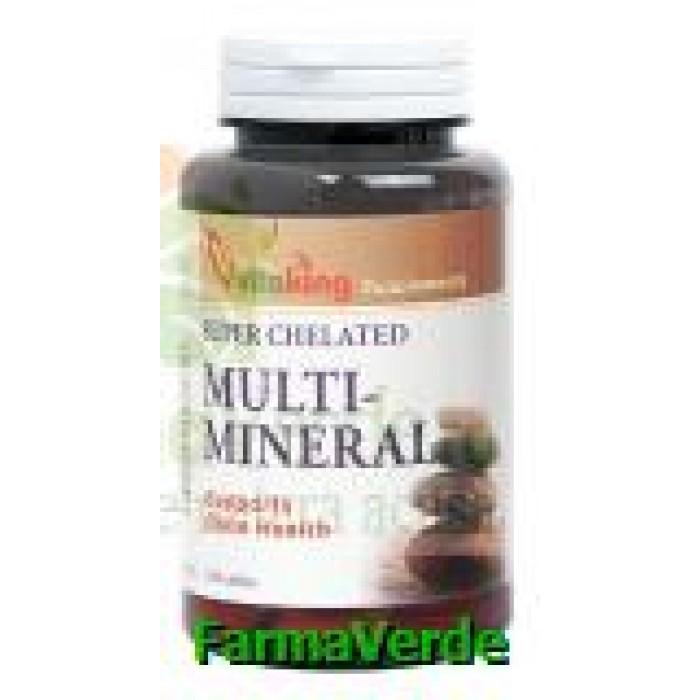 Complex multimineral 100 comprimate Vitaking