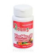 Complex VitaMix +55 ani Vitamine 30 comprimate Adams Vision