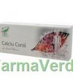 Calciu Coral 30 capsule Medica ProNatura