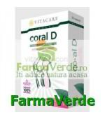 Coral D Calciu cu Vitamina D 30 capsule Vita Care