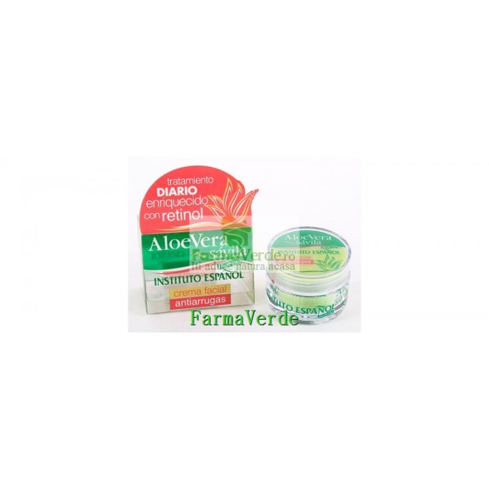 Crema Antirid Cu Aloe Vera 50 ml Cosmetico