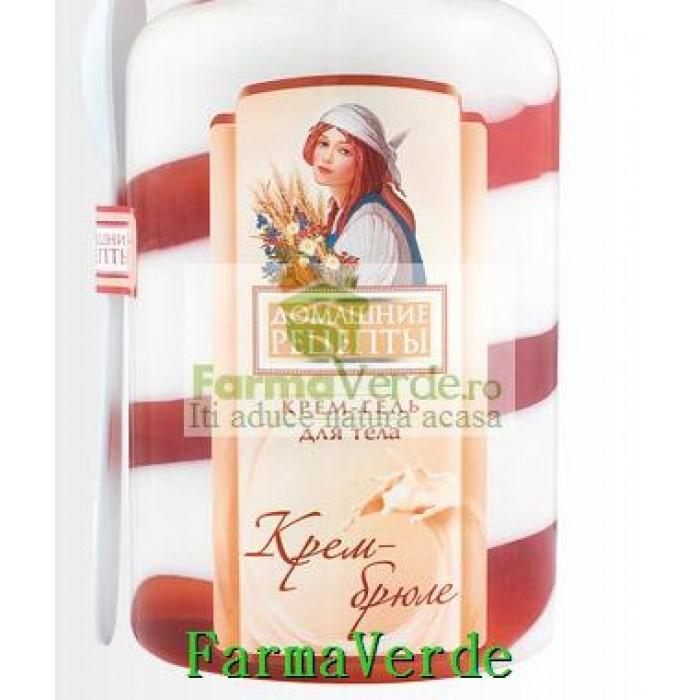 Crema brulee pentru corp cu lapte si frisca - cod RC 42 NOU