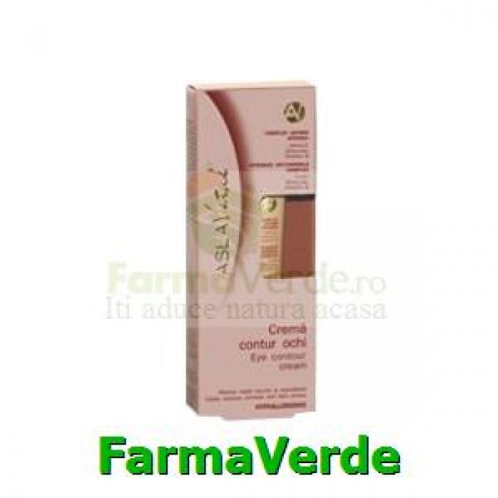 Crema contur ochi Argila, Ferulan, Omega 6 Aslavital Farmec