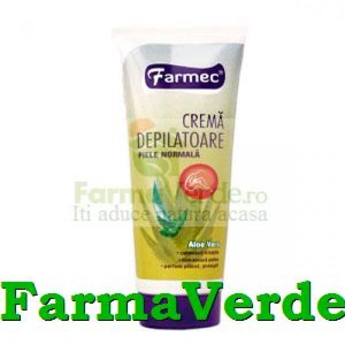 Crema depilatoare piele normala 150 ml Farmec