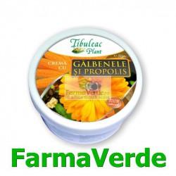 Crema cu Galbenele si Propolis 30 ml Tibuleac Plant Gheorghe
