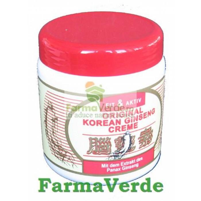 CREMA Ginseng Coreean 500 ml Senssitive Concept
