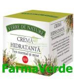 Crema Hidratanta Pentru Ten Normal Si Mixt 50 ml Manicos