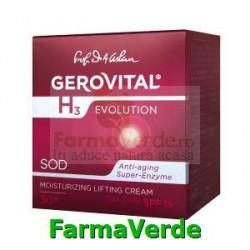 Crema lift hidratanta de zi cu FP15 50ml Gerovital H3 Evolution
