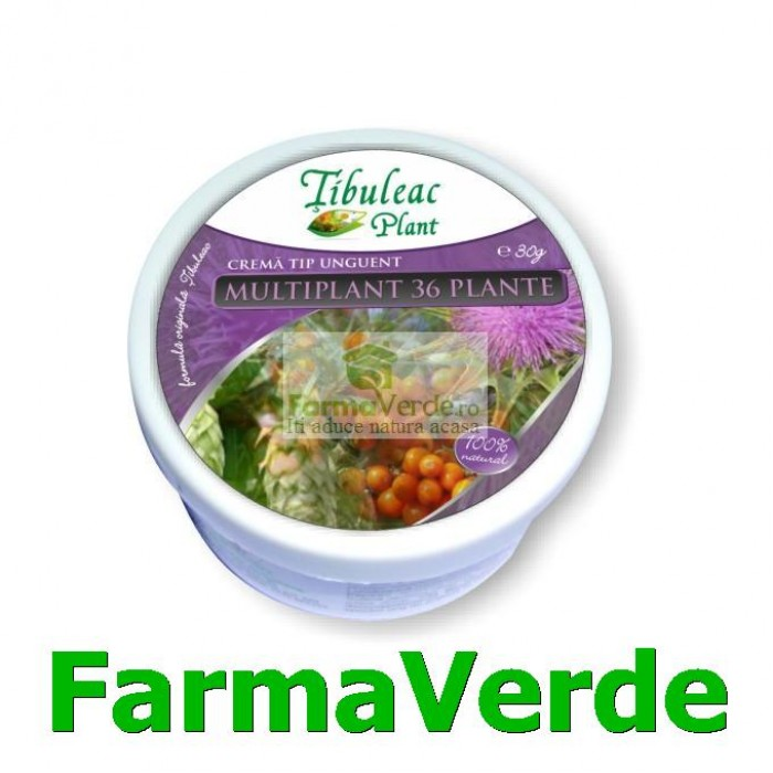 Crema MULTIPLANT 36 Plante 50 grame Tibuleac Plant Gheorghe