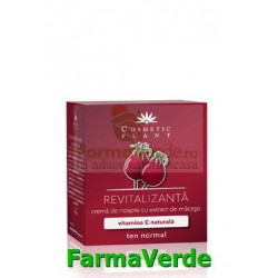 Crema de noapte revitalizanta cu vitamina C 50ml Cosmetic Plant