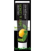 BIOLUXE Crema dezodorizanta de picioare menta si lamaie BL 7