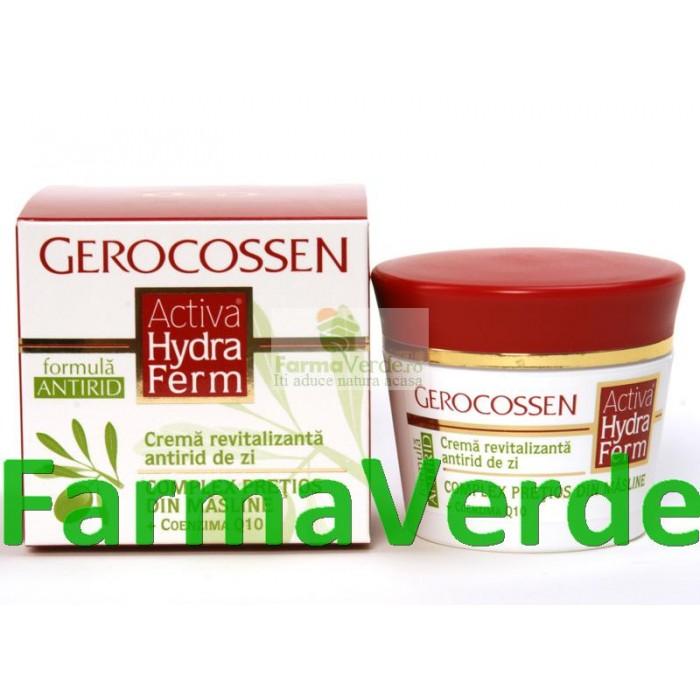Gerocossen Activa Hydraferm Crema Revitalizanta Antirid de Zi
