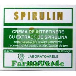 Spirulin Crema de intretinere cu extract de spirulina Hofigal