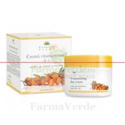 Crema vitaminizanta de zi cu ulei de catina 50 ml Cosmetic Plant