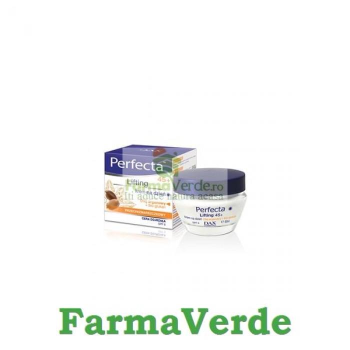 Crema de zi antirid +45 ani 50 ml Dax Perfecta