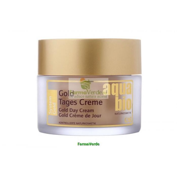Crema de zi BIO GOLD Aqua Bio AUR Life Care