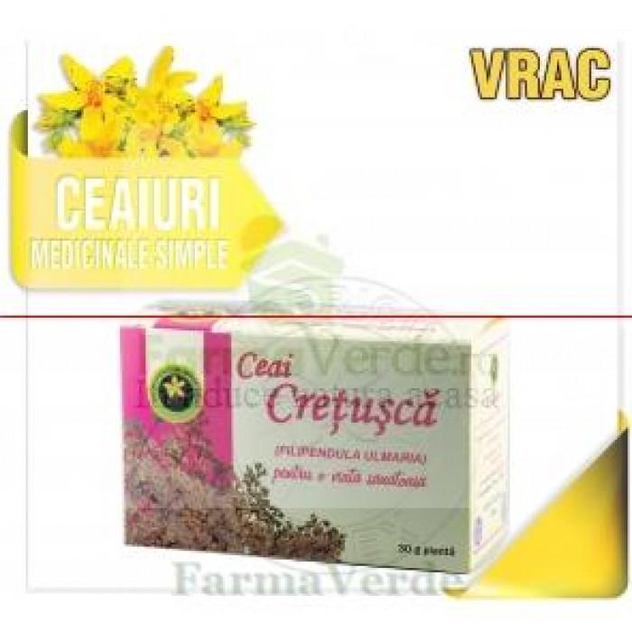 Ceai Cretusca-Filipendula Ulmaria 30 gr Hypericum Impex Plant