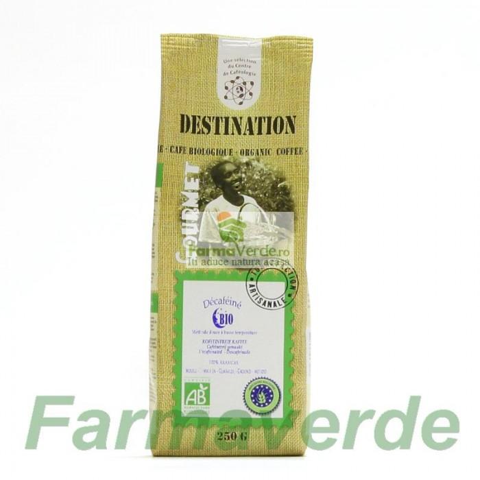 Cafea Macinata Destination Decofeinizata BIO 250 gr MDS