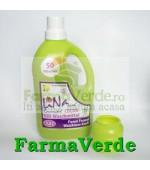 Detergent lichid pentru rufe,organic BIO, nuci de sapun, Lavanda