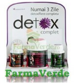 Detox Complet Pachet Herbagetica