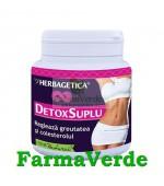 Detox Suplu Slabesti cu Alge 120 capsule Herbagetica