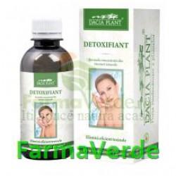 Detoxifiant Tinctura 50 ml Remediu DaciaPlant