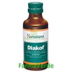 Diakof 100ml Sirop Antitusiv Herbomineral FARA ZAHAR Himalaya