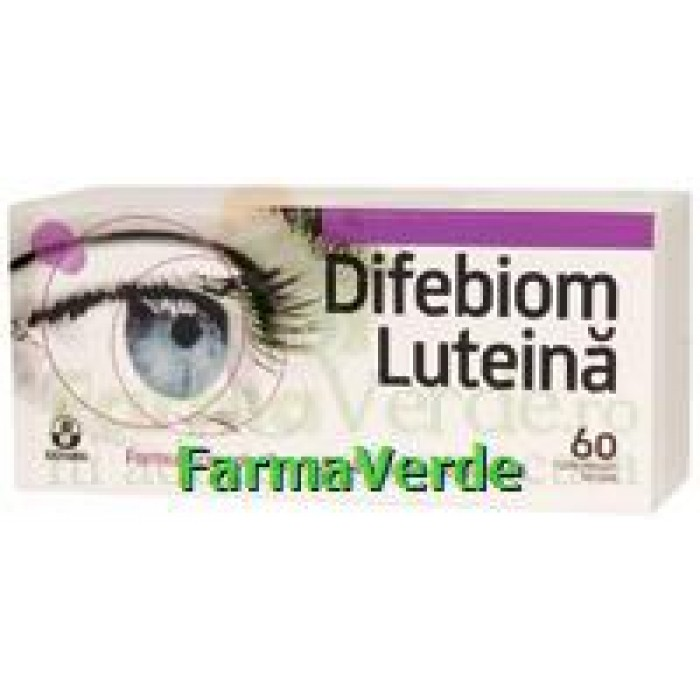 Biofarm Difebiom Luteina 60 cpr