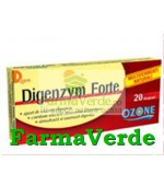 Digenzym Forte 10 Drajeuri Ozone Labormed