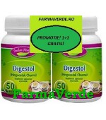 PROMO! Digestol Pulbere Plante 50 gr 1+1 GRATIS! Indian Herbal