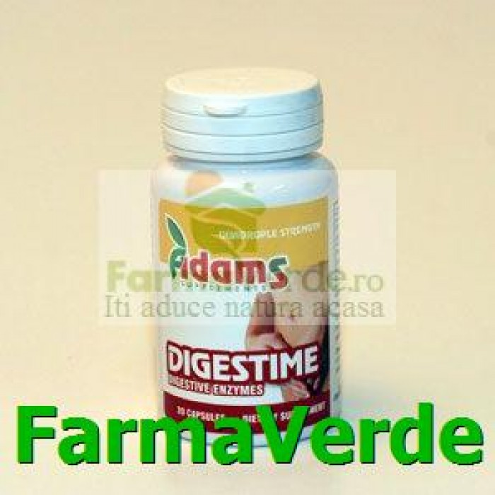 DIGESTIME Enzime Digestive 20 cps ADAMS VISION