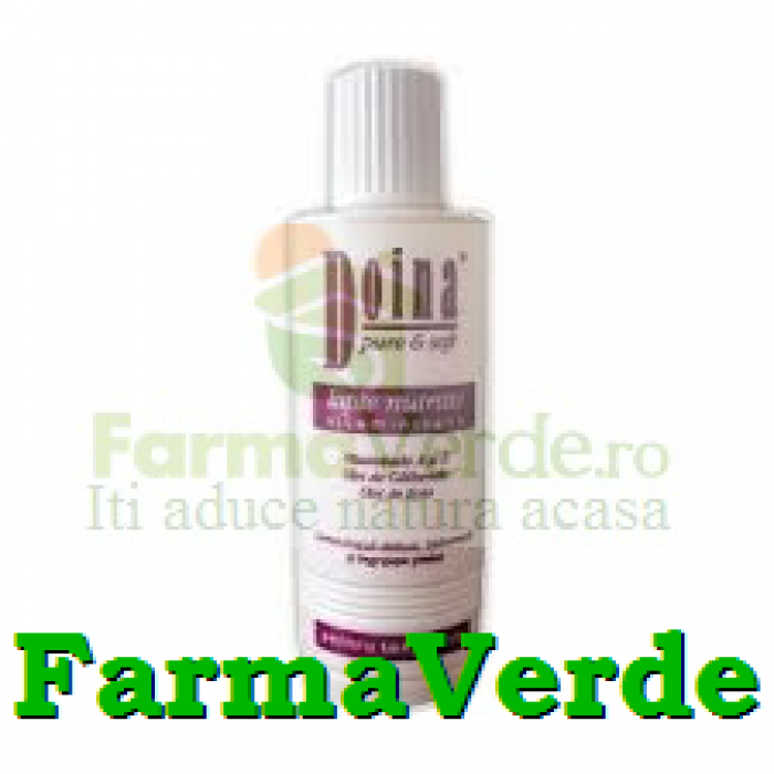 Lapte nutritiv vitaminizant 200ml Doina Pure&Soft Farmec