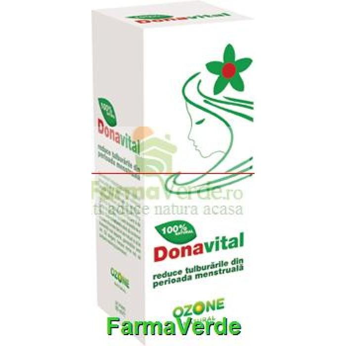 Donavital reduce cu peste 90% durerile si tulburarile menstruale