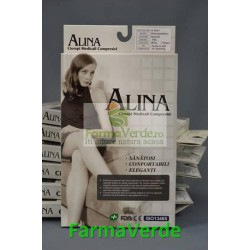Dres Alina Normal Negru 20-30MMHG A-5001 Estrade