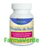 Drojdie de Bere cu Vitamine si Minerale 120 cpr Casa Herba