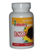 VITAMINA E NATURALA 400 UI 30 cps ADAMS VISION