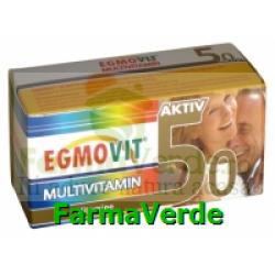 Egmovit Aktiv Multivitamin 50+ 20 capsule