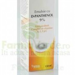 Emulsie Panthenol 9% Santaderm 150 ml Vitalia Pharma