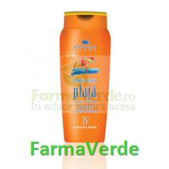 Emulsie plaja extract castan+Vit E FP 15 250ml Cosmetic Plant