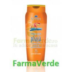 Emulsie pentru plaja extract castan+Vit.E FP 25 Cosmetic Plant