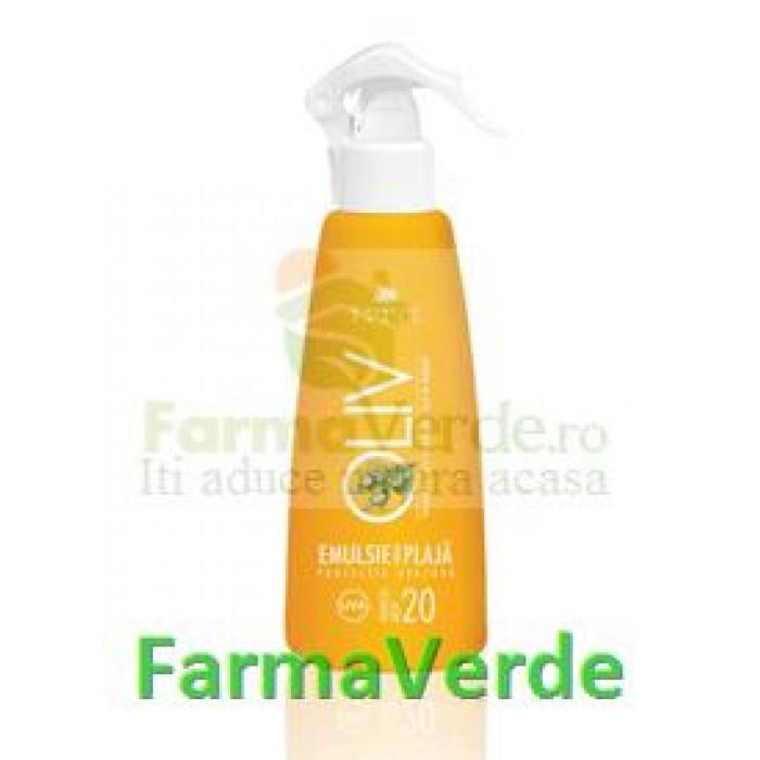 Spray plaja ulei de morcov si masline FP20 Cosmetic Plant