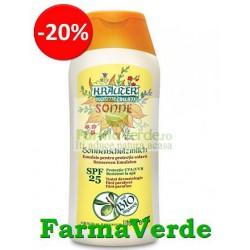 Emulsie pentru protectie solara cu ulei de argan BIO SPF 25 Life