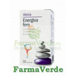 Energiva fem Complex de Vitamine si Minerale 30 cpr Alevia