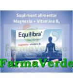 Equilibra Magneziu+Vitamina B6 60 capsule Antibiotice Iasi