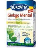 Eurovita Ginkgo Mental 40 capsule moi Europharm