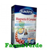 Eurovita Magneziu B Complex 42 cpr Europharm