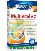 Eurovita MultiVital A-Z 42 comrpimate Europharm RECLAMA TV!