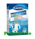 Eurovita Osteo Vitactiv Forte 30comprimate masticabile Europharm