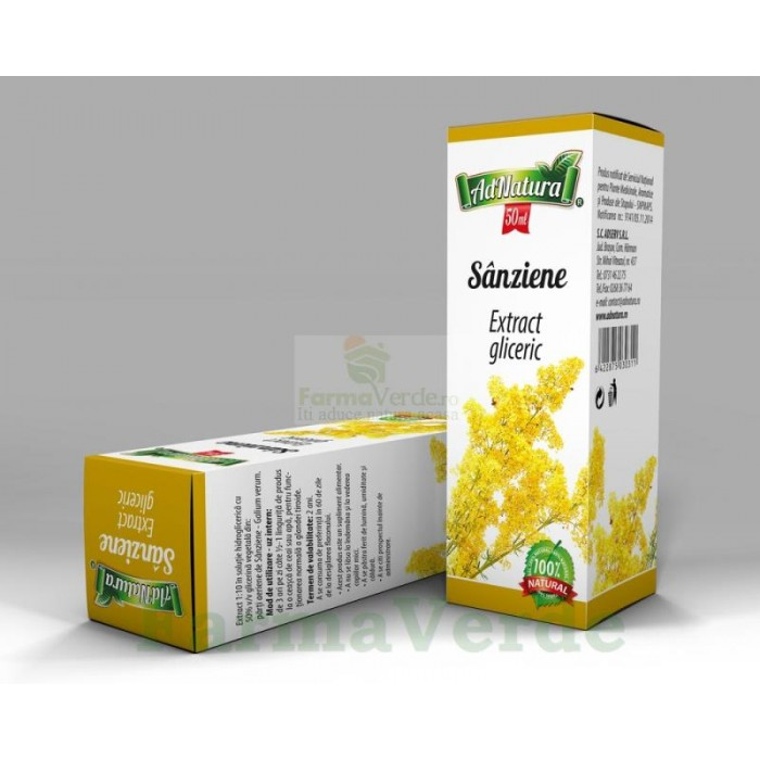 Extract Gliceric SANZIENE 50 ml Adnatura Adserv