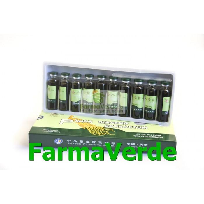 Extract de Panax Ginseng 10 Fiole Sanye L&L Plant Advancemed